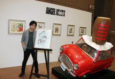 シティーハンター連載30周年記念『北条司原画展』リョウが住む新宿で11月8日まで無料開催!