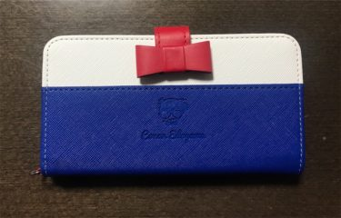 『名探偵コナン』多機種対応スマホケースを買ってみた。カメラOK!PU合皮カードポケット付き!